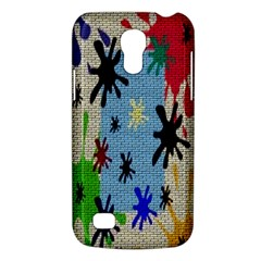 Paint Splatters Samsung Galaxy S4 Mini (GT-I9190) Hardshell Case