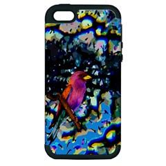 Bird Apple iPhone 5 Hardshell Case (PC+Silicone)