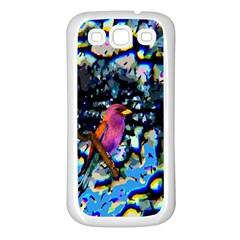 Bird Samsung Galaxy S3 Back Case (White)