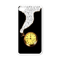 Time Flies Apple Iphone 4 Case (white)