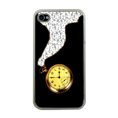 Time Flies Apple iPhone 4 Case (Clear)