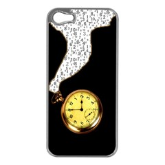 Time Flies Apple iPhone 5 Case (Silver)