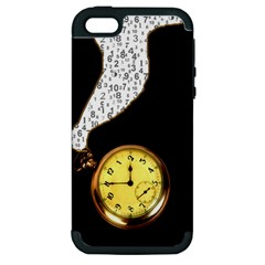 Time Flies Apple iPhone 5 Hardshell Case (PC+Silicone)