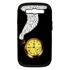 Time Flies Samsung Galaxy S Iii Hardshell Case (pc+silicone)