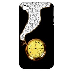 Time Flies Apple Iphone 4/4s Hardshell Case (pc+silicone)
