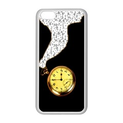 Time Flies Apple iPhone 5C Seamless Case (White)