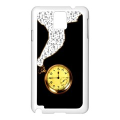 Time Flies Samsung Galaxy Note 3 N9005 Case (White)