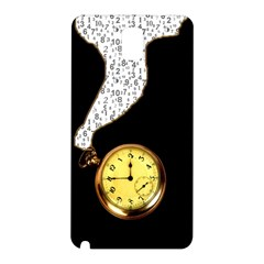 Time Flies Samsung Galaxy Note 3 N9005 Hardshell Back Case