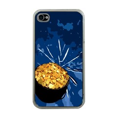 Pot Of Gold Apple Iphone 4 Case (clear)