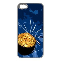 Pot of Gold Apple iPhone 5 Case (Silver)