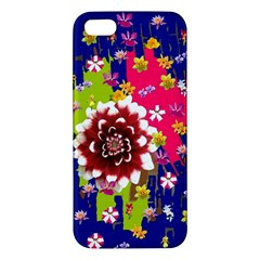 Flower Bunch iPhone 5S Premium Hardshell Case
