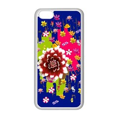 Flower Bunch Apple iPhone 5C Seamless Case (White)
