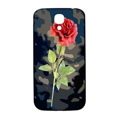 Long Stem Rose Samsung Galaxy S4 I9500/I9505  Hardshell Back Case