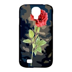 Long Stem Rose Samsung Galaxy S4 Classic Hardshell Case (PC+Silicone)