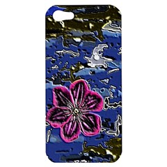 Flooded Flower Apple Iphone 5 Hardshell Case