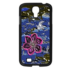 Flooded Flower Samsung Galaxy S4 I9500/ I9505 Case (Black)