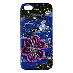 Flooded Flower iPhone 5S Premium Hardshell Case