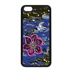 Flooded Flower Apple Iphone 5c Seamless Case (black)