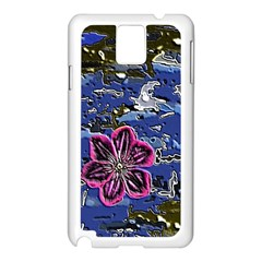 Flooded Flower Samsung Galaxy Note 3 N9005 Case (white)
