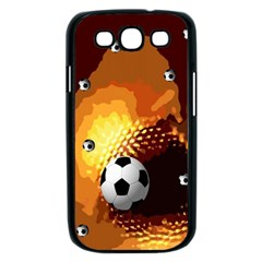 Soccer Samsung Galaxy S III Case (Black)