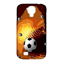 Soccer Samsung Galaxy S4 Classic Hardshell Case (pc+silicone)