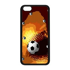 Soccer Apple Iphone 5c Seamless Case (black)