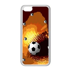 Soccer Apple iPhone 5C Seamless Case (White)