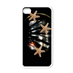 Star Fish Apple Iphone 4 Case (white)