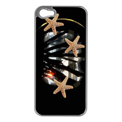 Star Fish Apple Iphone 5 Case (silver)