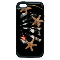 Star Fish Apple iPhone 5 Hardshell Case (PC+Silicone)