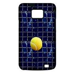 Tennis Samsung Galaxy S II i9100 Hardshell Case (PC+Silicone)
