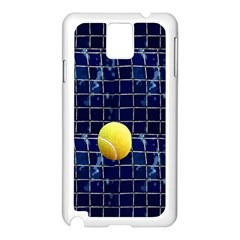 Tennis Samsung Galaxy Note 3 N9005 Case (White)
