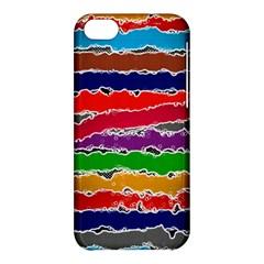 Striped Apple iPhone 5C Hardshell Case
