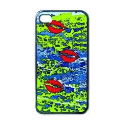 Kisses Apple Iphone 4 Case (black)