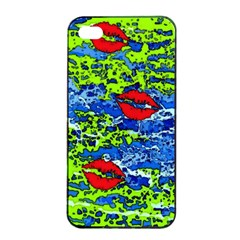 Kisses Apple Iphone 4/4s Seamless Case (black)
