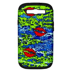 kisses Samsung Galaxy S III Hardshell Case (PC+Silicone)