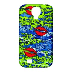kisses Samsung Galaxy S4 Classic Hardshell Case (PC+Silicone)