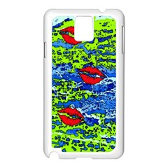 kisses Samsung Galaxy Note 3 N9005 Case (White)