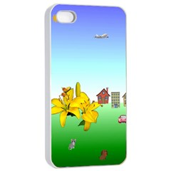 Good Day Apple iPhone 4/4s Seamless Case (White)