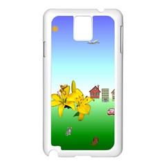 Good Day Samsung Galaxy Note 3 N9005 Case (white)