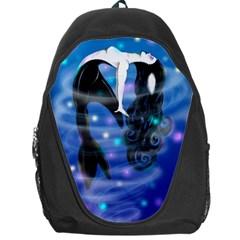 Orca Mermaid Backpack Bag