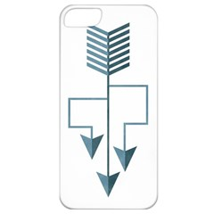 Arrow Paths Apple Iphone 5 Classic Hardshell Case
