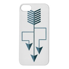 Arrow Paths Apple iPhone 5S Hardshell Case