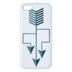 Arrow Paths iPhone 5S Premium Hardshell Case