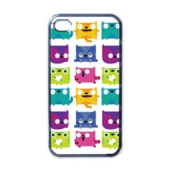 Cats Apple iPhone 4 Case (Black)