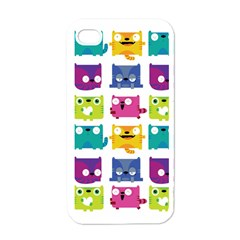 Cats Apple Iphone 4 Case (white)