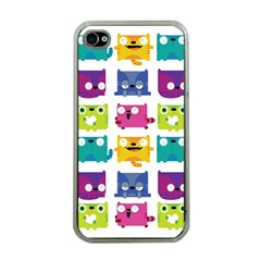 Cats Apple Iphone 4 Case (clear)