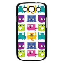 Cats Samsung Galaxy S III Case (Black)