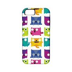 Cats Apple Iphone 5 Classic Hardshell Case (pc+silicone)