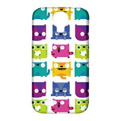 Cats Samsung Galaxy S4 Classic Hardshell Case (PC+Silicone)